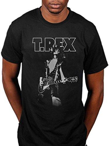 Official T-Rex Marc Glam T-Shirt Black ()