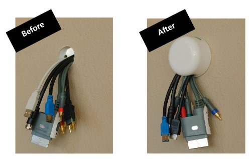 wall mount cord cover kit - 4
