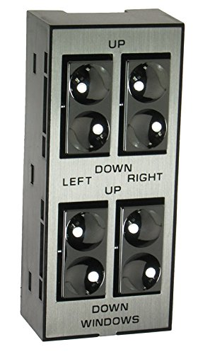 Front Master Power Window Switch 4 Door Left LH for Buick Cadillac Oldsmobile ()