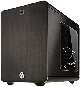 RAIJINTEK METIS Cubo Negro - Caja de Ordenador (Cubo, PC, Aluminio, SPCC, Negro, Mini-ITX, 16 cm): Amazon.es: Informática