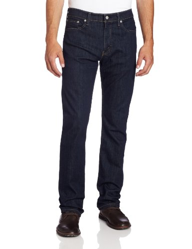 Levi's Men's 513 Stretch Slim Straight Jean, Bastion, 34x32 (Inseam 32' Mens Jeans)