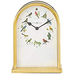 Howard Miller 645-405 Songbirds of North America III Table Clock by