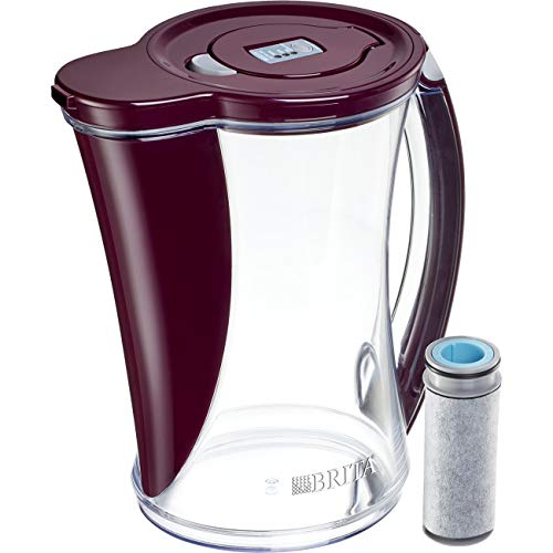 - Brita Large 12 Cup Stream Filter As You Pour Water Pitcher with 1 Filter, Cascade - BPA Free - Boudreaux