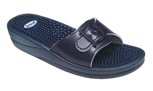 13af41cca63ae3 Scholl New Massage Fitness Sandals Navy Blue  Amazon.co.uk  Health    Personal Care