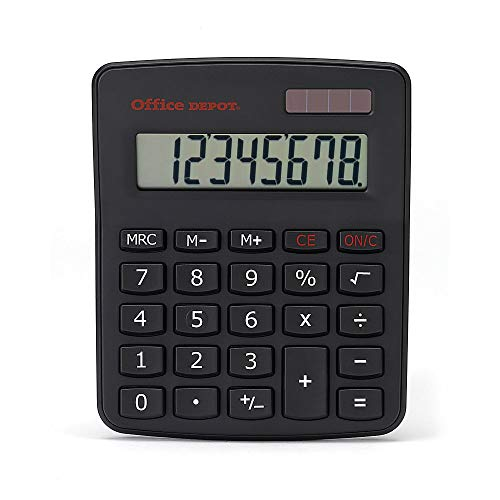 Office Depot OD02M Standard Desktop Calculator, OD02M