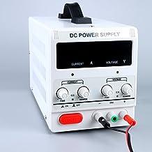 YaeTek Variable Adjustable Lab DC Bench Power Supply 0-30V, 0-5A, 8014