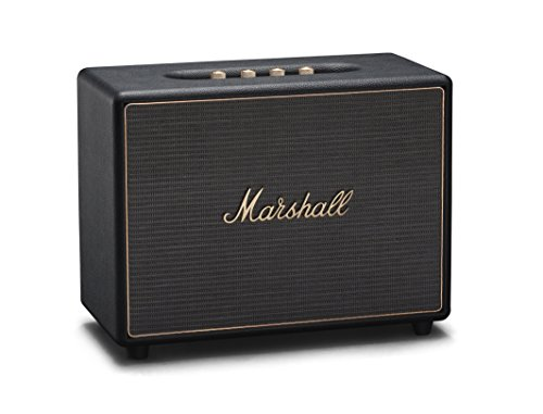 Marshall Woburn Multi-Room Wi-Fi and Bluetooth Speaker, Black (04091921)