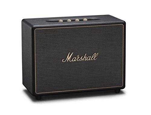 Marshall Woburn Wireless Multi-Room Wi-Fi and Bluetooth Speaker, Black (04091921)