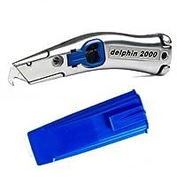 Delphin® Universalmesser 2000 - inkl. Köcher blau 100310