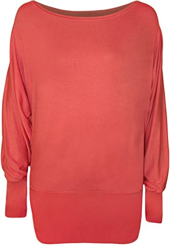 Miss Trendy - Jerséi - para mujer Coral