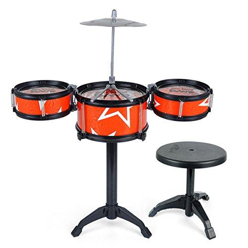 Kids My First Jazz Beat Sound Drum Kit Play Set Drums Mus...