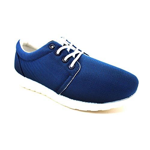 bass3d, Sneaker donna blu blu