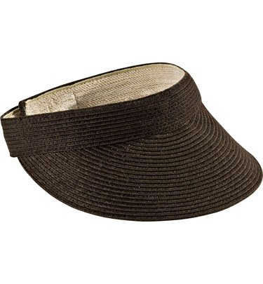 c2ee89fcc215d San Diego Hat Company Women s Small Brim Visor O S Black available ...