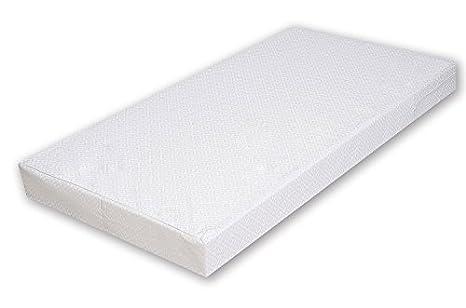 Lo mejor para los niños comodidad colchón MAXI 100% poliéster algodón con Certificado TÜV 70 x 140 x 10 cm viscoelásticos con muy buena salud y ...