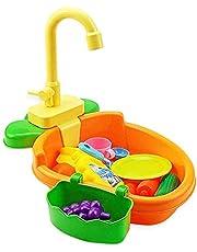 Vaatwasser Speelgoed Kinderen Spoelsimulatie Kinderen Vogel Bad Container Elektrische met Running Water Cycle Systeem