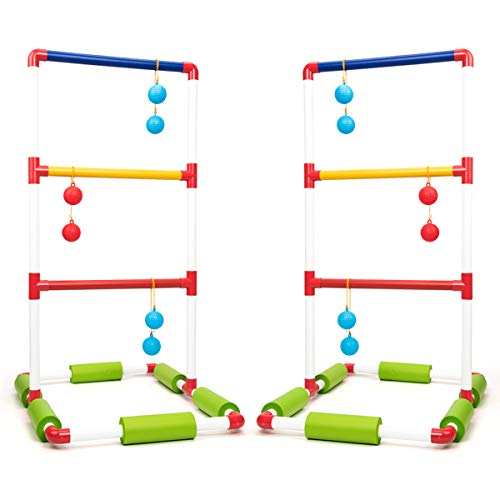 ROPODA Floating Ladder Ball toss Game Set-Fun Pool for sale  Delivered anywhere in USA