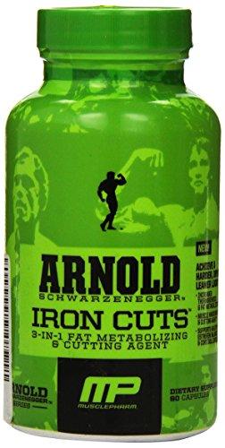 Muscle Pharm Arnold Schwarzenegger Series Iron Cuts, 90 Capsules