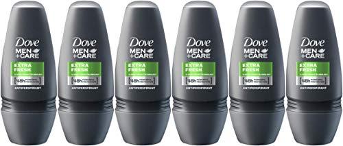 Dove Men+Care Extra Fresh Antiperspirant Roll-On, 1.7 Ounce / 50 ml (Pack of -