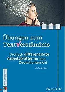 Übungen zum Textverständnis Klasse 5/6: Dreifach differenzierte ...