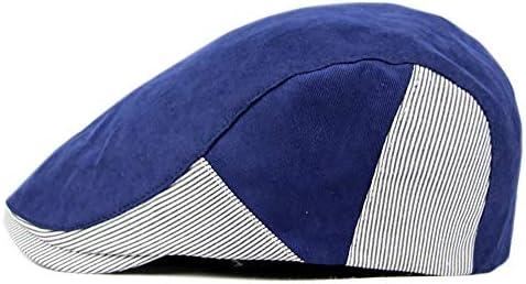 野球帽 キャスケット メンズ ハット ゴルフ コットン 調整可能 ソフト 鳥打帽 55-60cm LWQJP (Color : 2, Size : Free size)