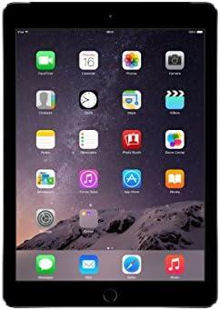 Apple iPad Air 2 MH312LL/A (128GB, Wi-Fi + Cellular, Space Gray) 2014 Model (Renewed)