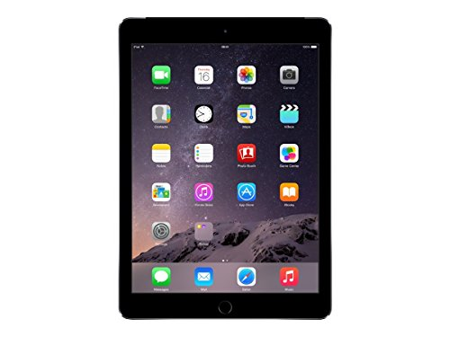 Price comparison product image Apple iPad Air 2, 128GB, 4G + Wi-Fi - Space Gray (Certified Refurbished)
