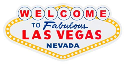 (Welcome to Fabulous Las Vegas Nevada Landmark Sign Souvenir Refrigerator Magnet)