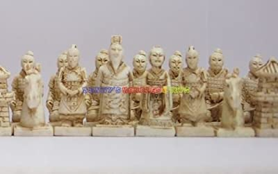 New Chinese Chess Set (Terracotta Warriors) 32 Pieces - Small Size (Chess Only)
