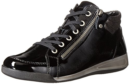 ara Women's Rylee Shoe, black vernice, 8.5 M US
