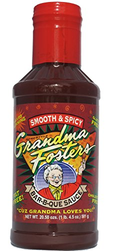 Grandma Foster's Smooth and Spicy Bar-B-Que Sauce 20.5 - Sauces Foster