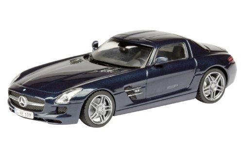 1/43 メルセデスベンツ SLS AMG クーペ ブルー 450746200