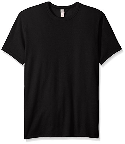 (Alternative Men's Vintage 50/50 Jersey the Keeper Tee, Black,)
