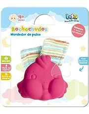 Bochechudos (6 Modelos Surtidos, Sapo, Leão, Rinoceronte, Porco, Elefante e Peixe), Toyster Brinquedos, Colorido, 1 unidade