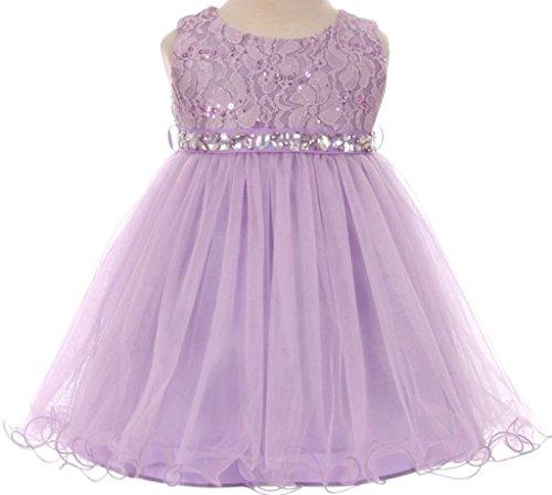 lilac baby dress - 1