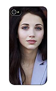 Durable Protector Case Cover With Brunettes Women Faces Emily Rudd Hot Design For Iphone 5/5s (ideal Gift For Lovers)