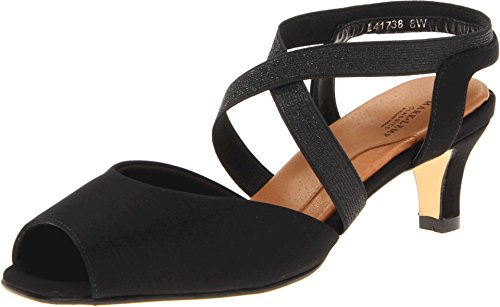 Mark Lemp Classics Women's Boa Black Micro/Gore 8 S from Rose Petals by Walking Cradles