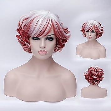 hjl de la Bella alta calidad alta temperatura de seda Mode niña se Preparando una peluca