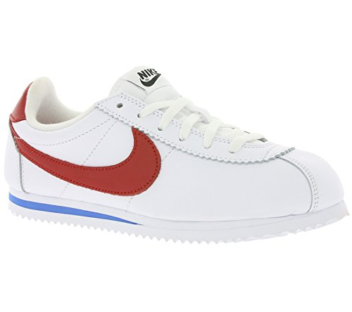ZAPATILLAS NIKE CLASSIC CORTEZ LTR SE (GS) WHITE/VARSITY RED-VARSITY ROYAL-BLACK