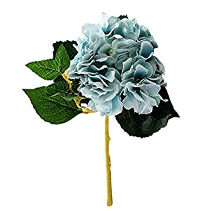 Familyhouse Artificial Flower Fake Hydrangea Flowers Wedding Bouquet Home Garden Party Decor 120