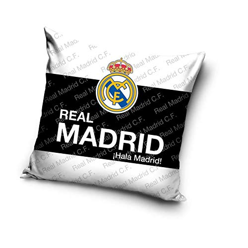 Real Madrid Cojín (con Relleno) Almohada Funda de cojín FC ...