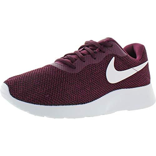 Nike Womens Tanjun SE Athletic Casual Running Shoes Purple 9 Medium (B,M)
