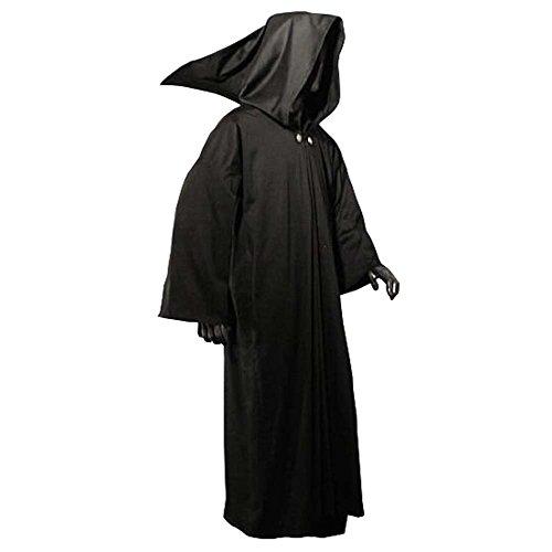Manteau de moine - coule monastique - noir
