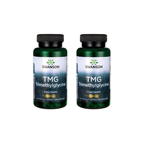 Swanson Tmg Trimethylglycine 500 mg 90 Caps 2 Pack