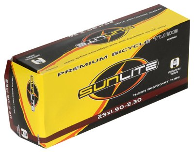 (Sunlite Thorn Resistant Schrader Valve Tube, 29 x 1.9-2.30