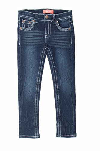 8H013(S) - Super Stretch 5 Pockets Skinny Jeans for Girls