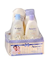 Aveeno Baby Daily Bathtime Solutions Gift Set - 3PC BOBEBE Online Baby Store From New York to Miami and Los Angeles