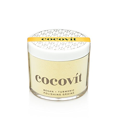 (Cocovit - Organic Besan + Turmeric Face Polishing Grains & Mask - 2-in-1 (4oz))
