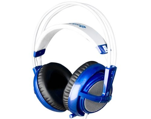 - SteelSeries Siberia V2 FullSize Headset with Microphone | Blue