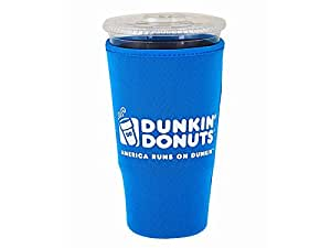 Amazon Com Dunkin Donuts Blue Large Cup Cooler Beverage