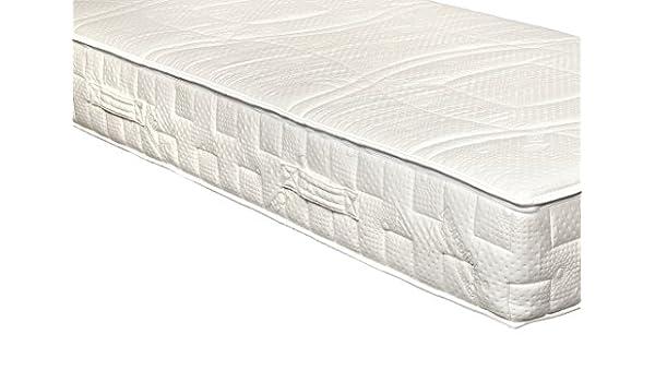 Yanis Látex Sentido 20 cm colchón de látex Suave Millenium 100% Natural Talalay, Tela, Blanco, 90x200cm: Amazon.es: Hogar